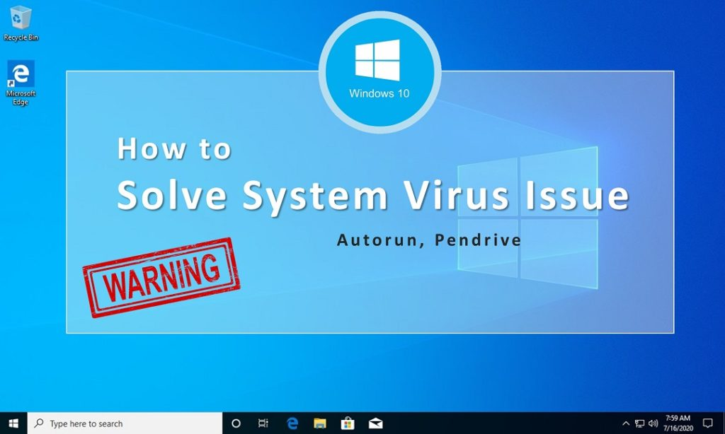 Windows-10 virus