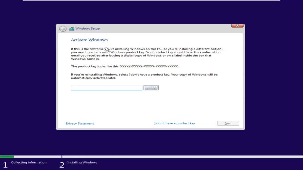 Windows 11 product key