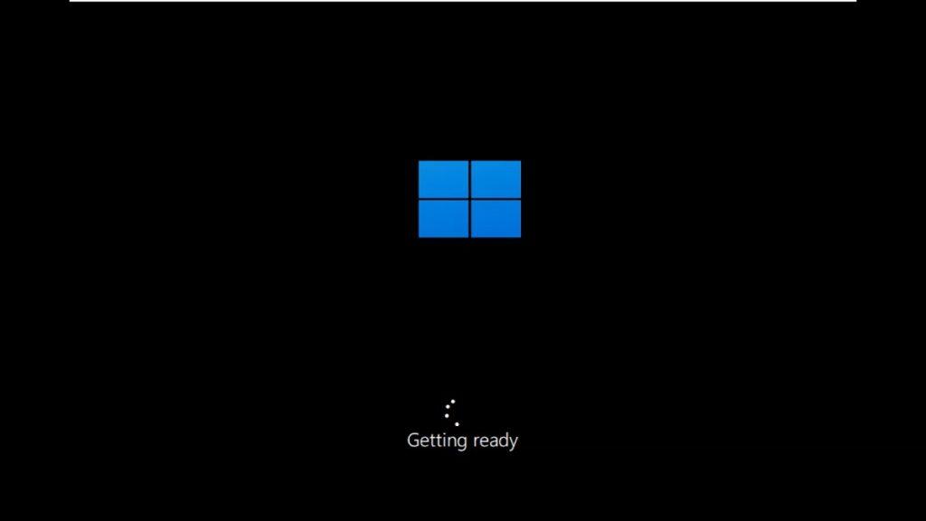 windows 11 booting